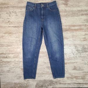 Women's Massimo Dutti Straight High Waist Jeans 4
